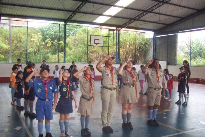 Primeira Atividade do Grupo GE Cruz Azul Itaquera